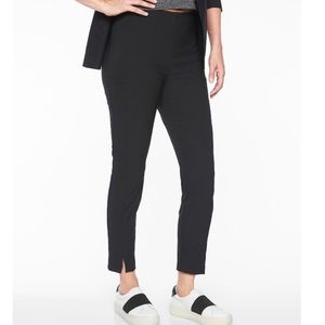 Athleta Wander Slim Ankle Pant Black Size 6 NWT ✨